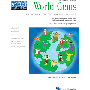World Gems - Folk Songs for Piano Ensemble