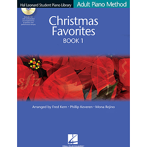 Christmas Favorites Book 1 - Book/CD Pack