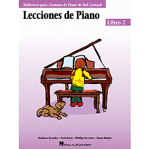 Piano Lessons Book 2 - Spanish Edition