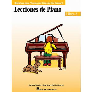 Piano Lessons Book 3 - Spanish Edition
