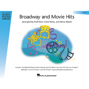 Broadway and Movie Hits - Level 1