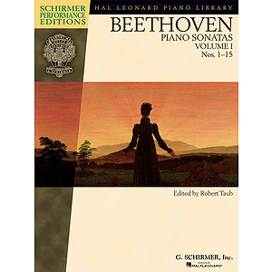 Beethoven - Piano Sonatas, Volume I - Book Only
