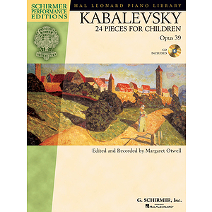 Kabalevsky - 24 Pieces for Children, Opus 39