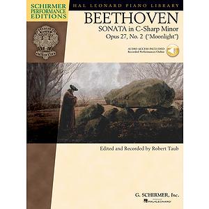 Beethoven -¦Sonata in C-Sharp Minor, Opus 27, No. 2 (Moonlight)