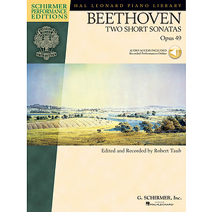 Beethoven - Two Short Sonatas, Opus 49