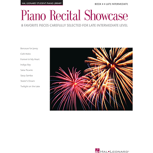 Piano Recital Showcase - Book 4