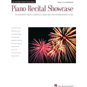 Piano Recital Showcase - Book 3