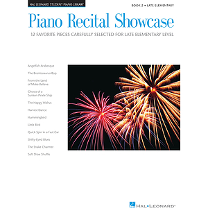 Piano Recital Showcase - Book 2