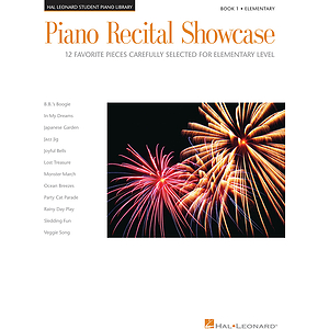 Piano Recital Showcase - Book 1
