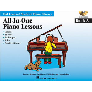 All-in-One Piano Lessons Book A