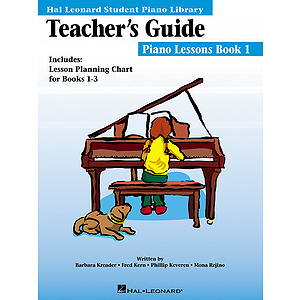 Teachers Guide International Piano Lessons Book 1 Hl Student Piano Library