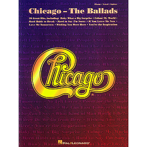 Chicago - The Ballads