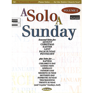 A Solo a Sunday - Volume 2