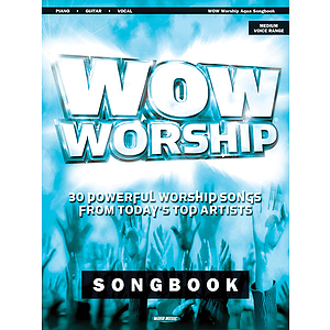 WOW Worship - Aqua Songbook