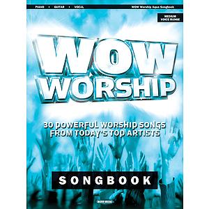 WOW Worship - Aqua Songbook