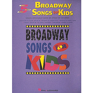 Broadway Songs For Kids - Five Finger