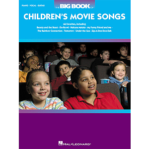 The Big Book of Children's Movie Songs