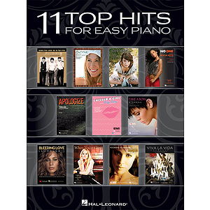11 Top Hits for Easy Piano - 2008 Edition