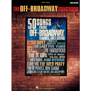 The Off-Broadway Songbook - 2nd Edition