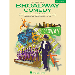 Broadway Comedy Songs - 2nd Edition