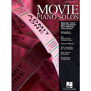 Movie Piano Solos - 2nd Edition