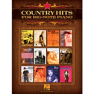Country Hits for Big-Note Piano