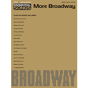 Essential Songs - More Broadway