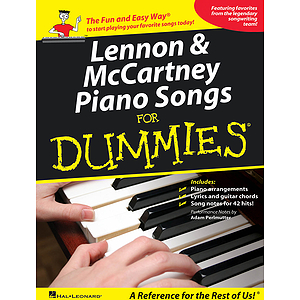 Lennon &amp; McCartney Piano Songs for Dummies
