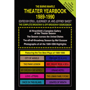 Theater Yearbook 1989-1990