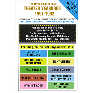 Theater Yearbook 1991-1992