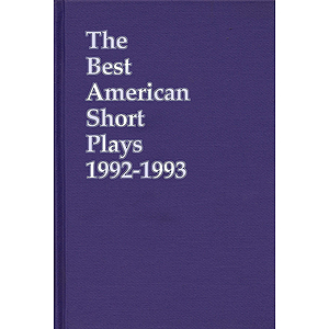The Best American Short Plays 1992-1993
