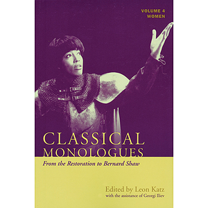 Classical Monologues: Women