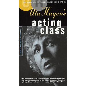 Uta Hagen's Acting Class (VHS)