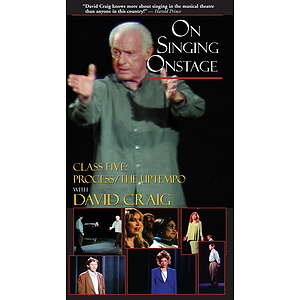 On Singing Onstage with David Craig (VHS)