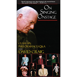 On Singing Onstage (VHS)