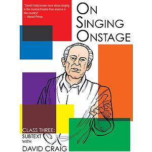 On Singing Onstage (DVD)