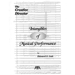 Intangibles of Musical Performance