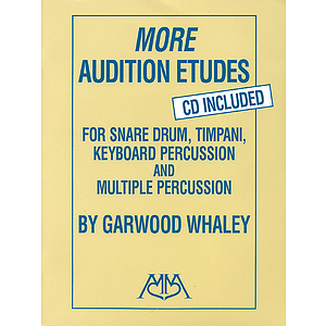 More Audition Etudes (CD Included)