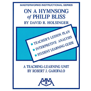 On a Hymn Song of Philip Bliss