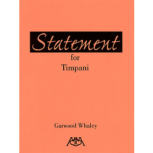 Statement for Timpani