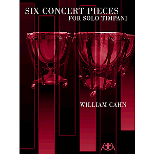 Six Concert Pieces for Solo Timpani