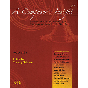 A Composer's Insight, Volume 1