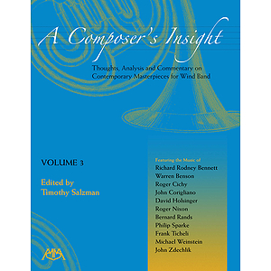 A Composer&#039;s Insight, Volume 3
