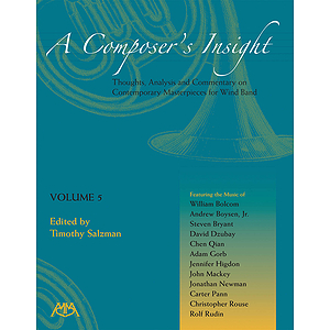 A Composer's Insight, Volume 5