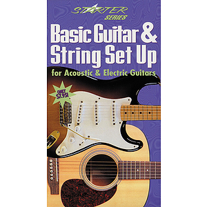 Basic Guitar and String Set Up for Acoustic & Electric Guitars (VHS)