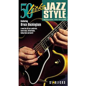 50 Licks Jazz Style (VHS)
