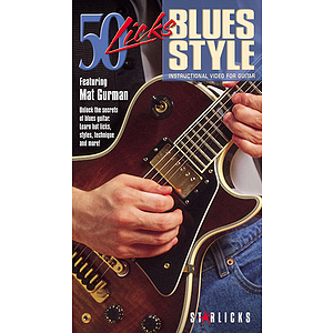 50 Licks Blues Style (VHS)