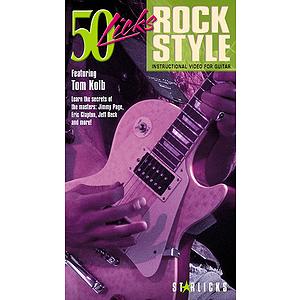 50 Licks Rock Style (VHS)