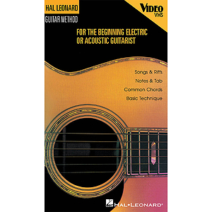 Hal Leonard Beginning Guitar Video (VHS)