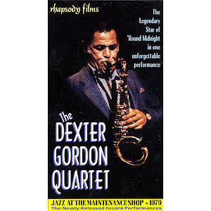 The Dexter Gordon Quartet (VHS)